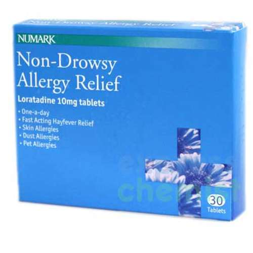 Image of Numark Non-Drowsy Allergy Relief Tablets (30) Loratadine