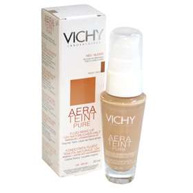 Vichy Aera Teint Pure Fluid Foundation for Normal to Combination Skin Sand 35 SPF 20 30ml