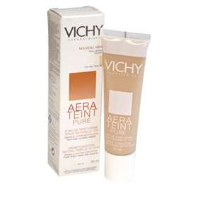 Vichy Aera Teint Pure Cream Foundation SPF 20 For Dry Skin 30ml Opal 12