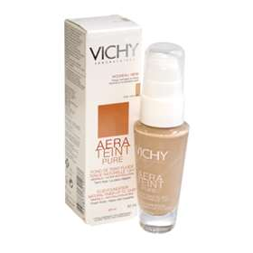 Vichy Aera Teint Pure Fluid Foundation for Normal to Combination Skin Ivory 23 SPF 20 30ml