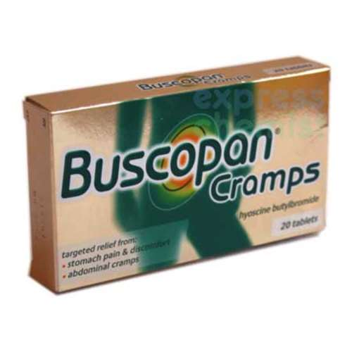 Image of Buscopan Cramps 20 Tablets