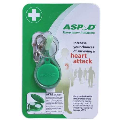 Image of Aspod Emergency Aspirin Keyring
