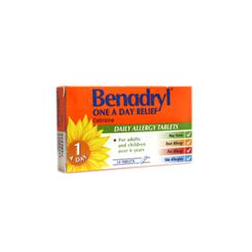 Benadryl One a Day Relief Tablets 14