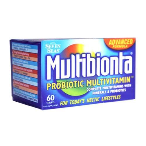 Multibionta Probiotic Multivitamin 60