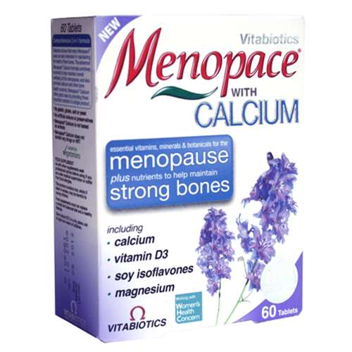 Menopace with Calcium 60 Tablets