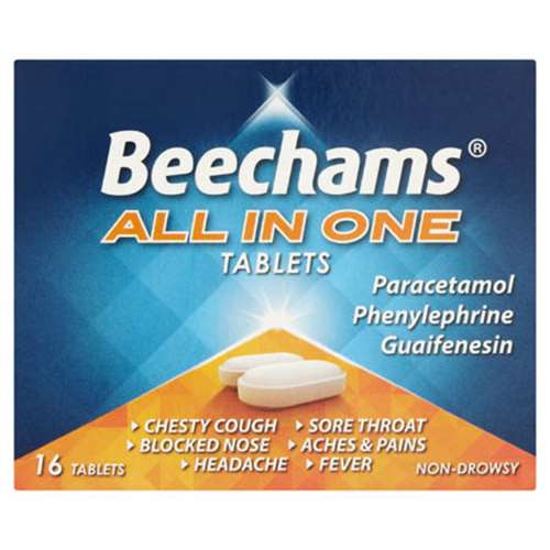 Image of Beechams All In One Tablets 16