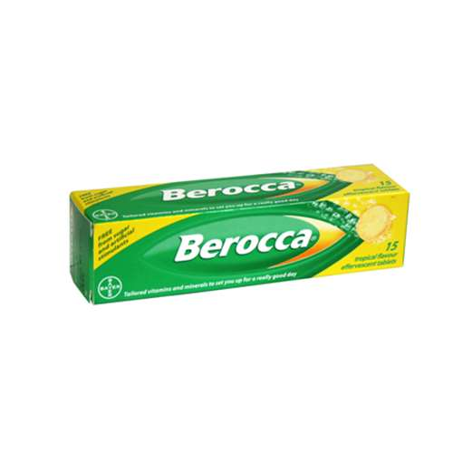 Image of Berocca Tropical Flavour 15