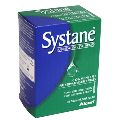 Image of Systane Lubricating Eye Drops 0.8ml 28