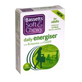 Bassetts Soft & Chewy Daily Energiser Pastilles 20