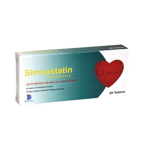 Simvastatin 10mg Tablets 28