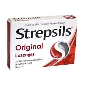 Strepsils Original Lozenges 16
