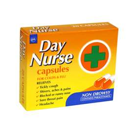 Day Nurse Capsules 20 - ExpressChemist.co.uk - Buy Online