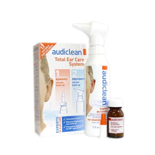 Image of Audiclean Total Ear Care System