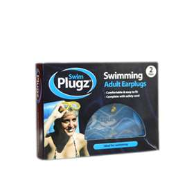 Swim Plugz Swimming Adult Earplugs