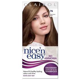 Clairol Nice 'n Easy Demi-Permanent Hair Colour Up To 24 Washes Hair Colour 76 Light Golden Brown