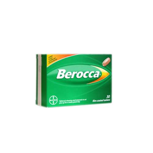 Image of Berocca Film Coated 30 TABLETS