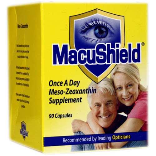 MacuShield Meso-Zeaxanthin Supplements 90