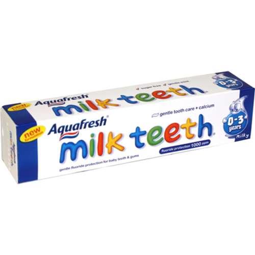 Image of Aquafresh Milk Teeth Toothpaste 50ml