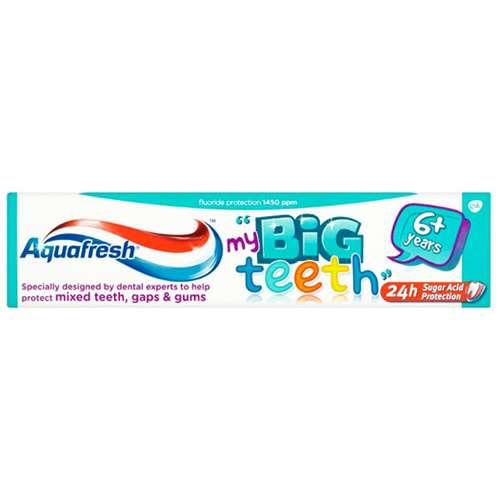 Image of Aquafresh Big Teeth Toothpaste 50ml