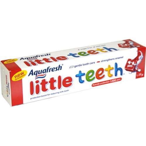 Image of Aquafresh Little Teeth Toothpaste 50ml
