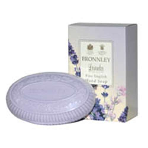 Image of Bronnley Lavender Hand Soap 100g