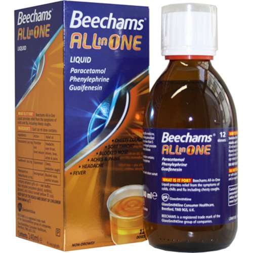 Image of Beechams All In One 240ml