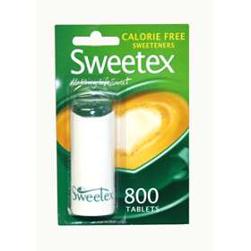 Sweetex Calorie Free Sweeteners 800 Tablets