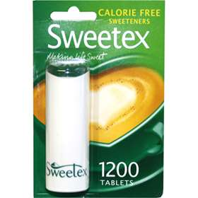 Sweetex Calorie Free Sweeteners 1200 Tablets