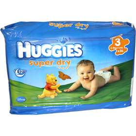 Huggies Super Dry Nappies Size 3 (4-9kg/9-20lb) 36 Pack