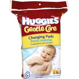 Huggies Gentle Care Changing Pads 8 Pack