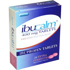 Ibucalm Extra Strength 24 Tablets 400mg