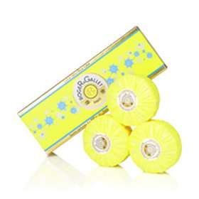 Roger and Gallet Blue Lotus Perfumed Soaps 3