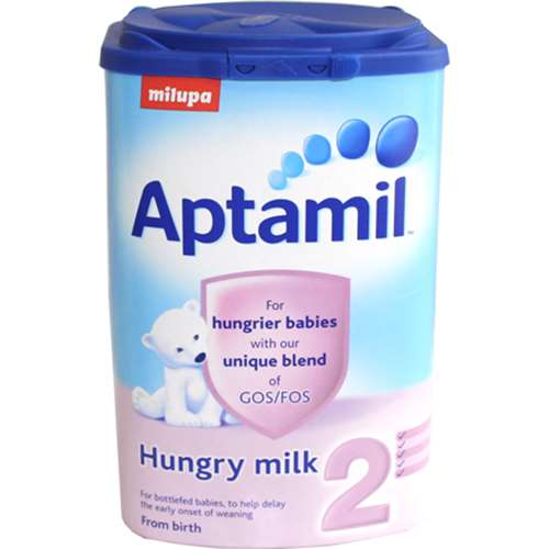 Image of Aptamil 2 For Hungrier Babies (From Birth) 900g