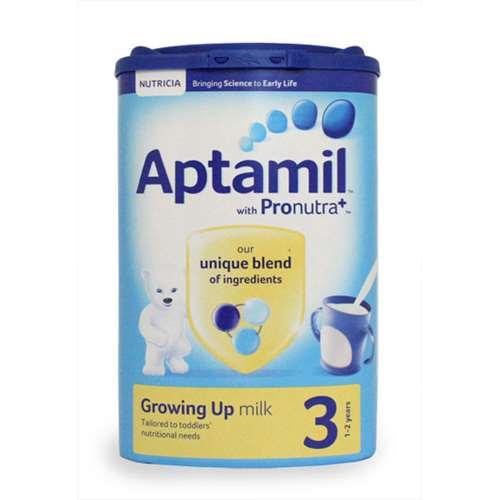Image of Aptamil 3 Growing Up Milk (1-2 years) 900g