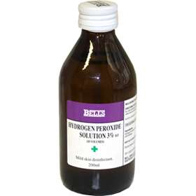 Bell's Hydrogen Peroxide Solution 3% B.P. 200ml