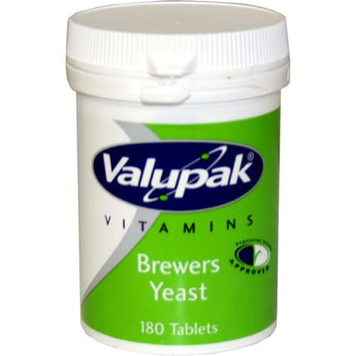 Valupak Brewers Yeast Tablets 120