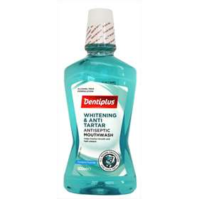 Dentiplus Whitening and Anti-Tartar Antiseptic Mouthwash 500ml