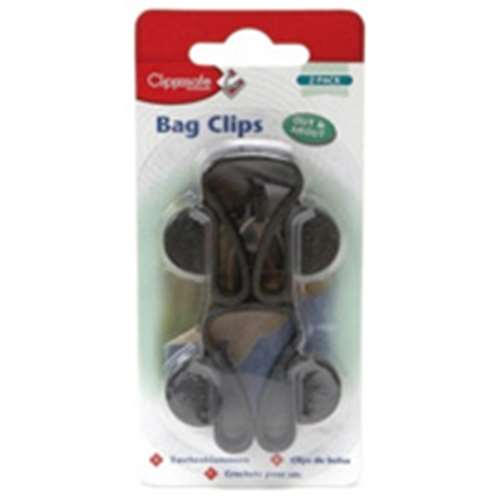 Image of Clippasafe Safety Bag Clips 2 Pack