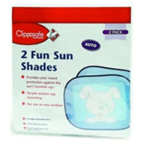Image of Clippasafe Fun Sun Shades 2