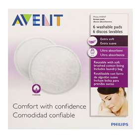 Avent Washable Breast Pads 6