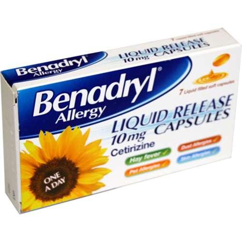 Image of Benadryl Allergy Liquid Release Capsules 7