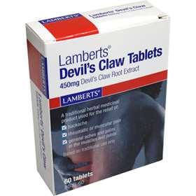Lamberts Devil's Claw 60 Tablets