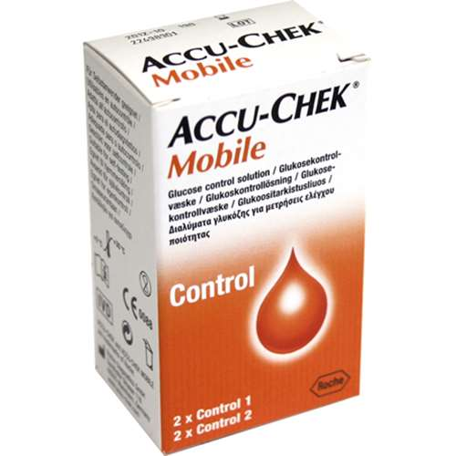 Image of Accu-Chek Mobile Control Solution