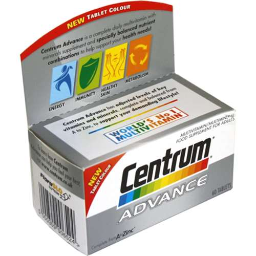 Image of Centrum Advance 60 Tablets