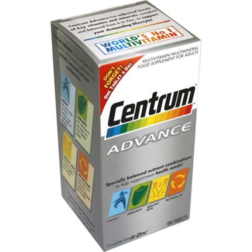 Image of Centrum Advance 100 Tablets