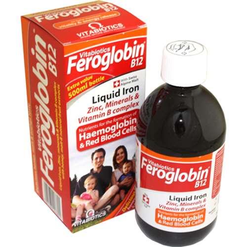 Feroglobin B12 Liquid Iron 500ml