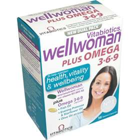 Wellwoman Plus Omega 3-6-9 56 Pack