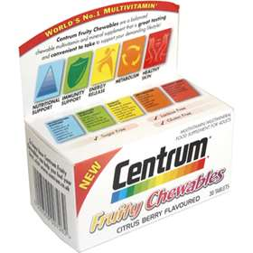 Centrum Fruity Chewables 30