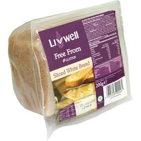 Livwell Gluten Free Sliced White Bread 200g