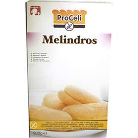 Proceli Melindros Gluten Free Iced Bread Buns 200g